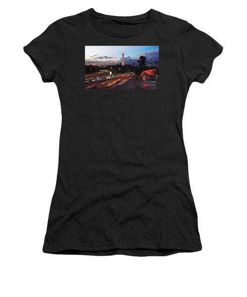 Sao Paulo Skyline - Ibirapuera Women's T-Shirt (Athletic Fit)