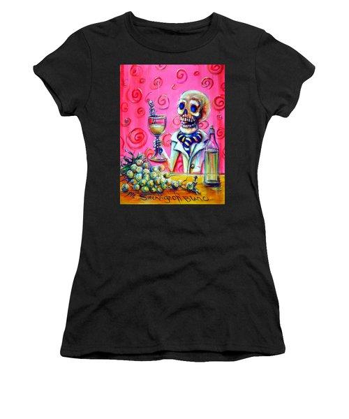 Mi Sauvignon Blanc Women's T-Shirt (Athletic Fit)