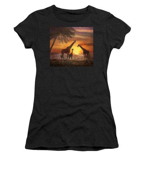 Savanna Sunset Women's T-Shirt