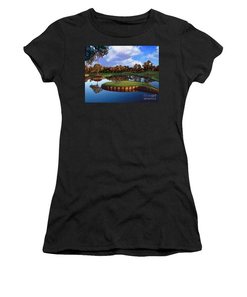 Sawgrass 17th Hole Women's T-Shirt (Athletic Fit)