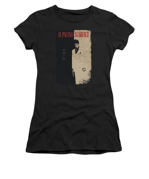 Scarface - Vintage Poster Women's T-Shirt