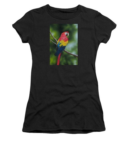Scarlet Macaw Women's T-Shirt