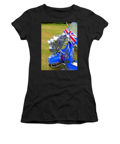 Scooter Dressed For Going Out Women's T-Shirt (Athletic Fit)