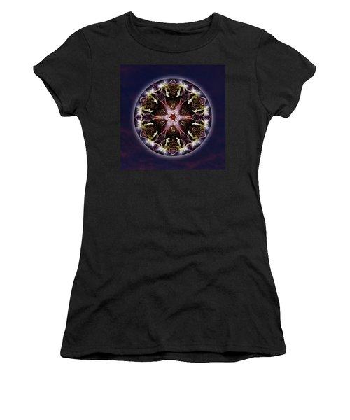 Scorpio Moon Warrior Women's T-Shirt (Athletic Fit)