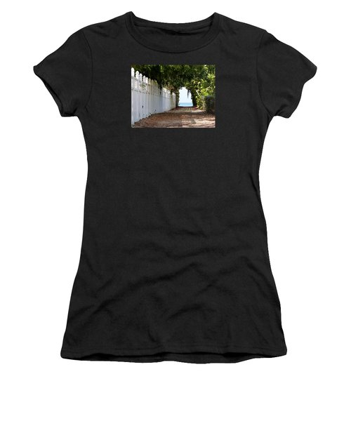 Passage To Sea Women's T-Shirt (Junior Cut) by Amar Sheow