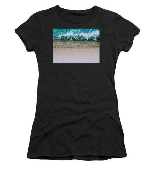 Sea Shore Colors Women's T-Shirt (Athletic Fit)