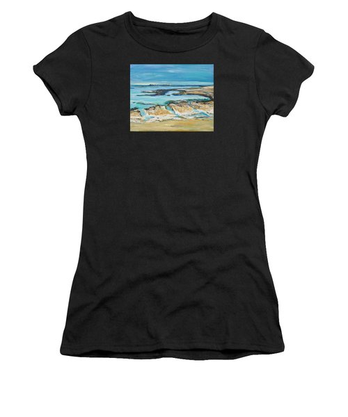 Sea Sky And Beach Women's T-Shirt