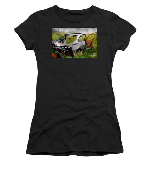 Search And Rescue Women's T-Shirt (Junior Cut) by Liane Wright
