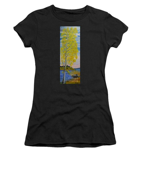 Seascape From Baltic Sea Women's T-Shirt