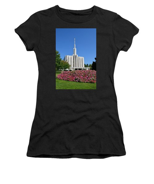 Seattle Temple Women's T-Shirt (Athletic Fit)