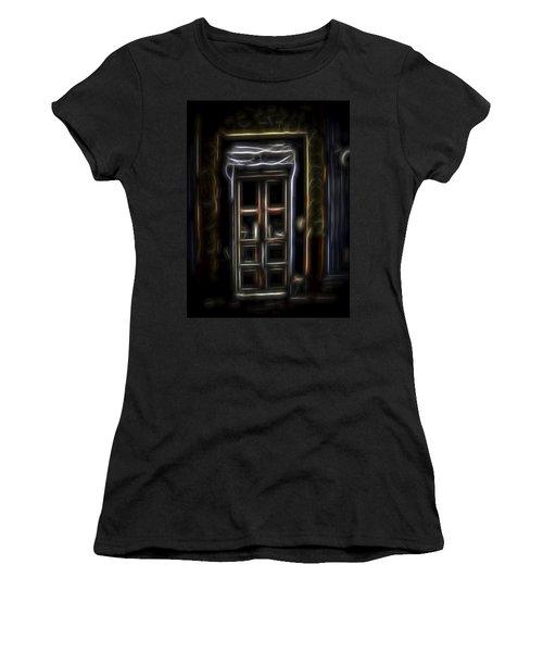Secret Doorway Women's T-Shirt (Junior Cut) by William Horden