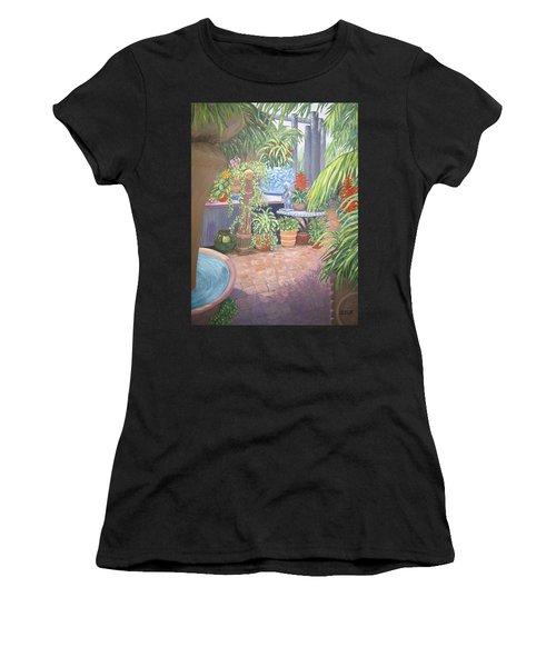 Secret Garden Women's T-Shirt (Athletic Fit)