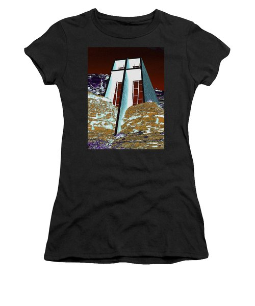 Sedona Rock Church Women's T-Shirt