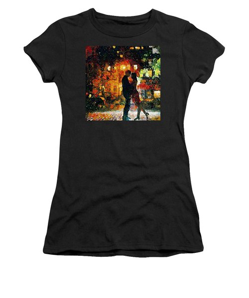 See You Tomorrow My Love Women's T-Shirt (Athletic Fit)