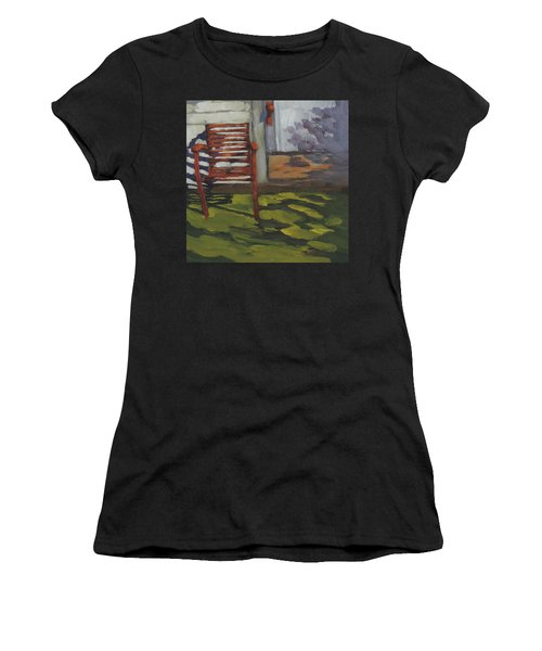 Seen Better Days - Art By Bill Tomsa Women's T-Shirt (Athletic Fit)