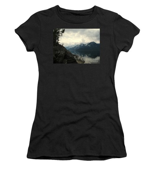 Selkirks In The Spring Women's T-Shirt (Junior Cut) by Leone Lund