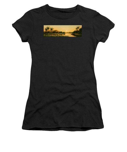 Seminole Sunset Women's T-Shirt (Athletic Fit)
