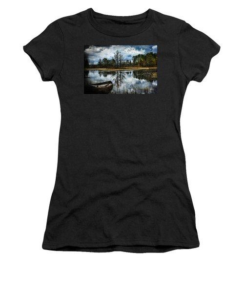 Seney And The Rowboat Women's T-Shirt
