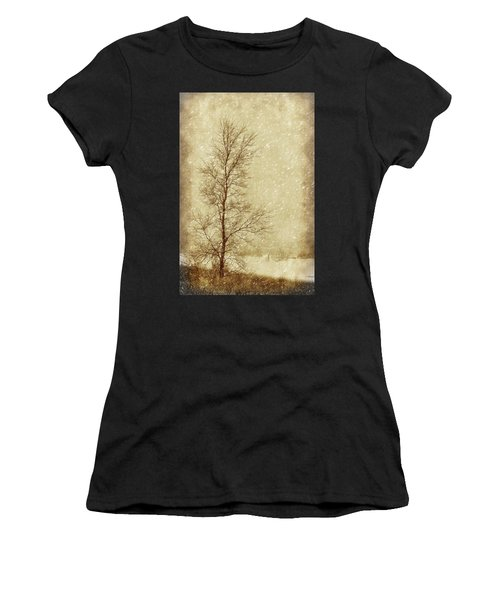 Sentinel Tree In Winter Women's T-Shirt
