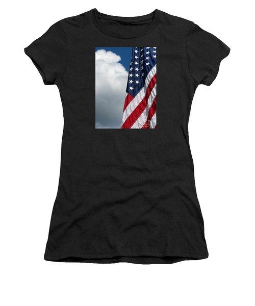 September Flag Women's T-Shirt (Athletic Fit)
