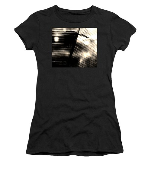 Women's T-Shirt (Junior Cut) featuring the photograph Shadows Symphony  by Jessica Shelton