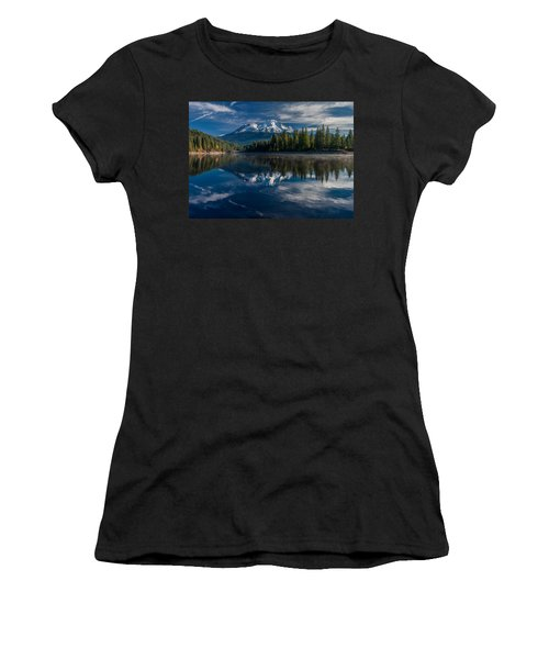 Shasta And Lake Siskiyou Women's T-Shirt (Athletic Fit)
