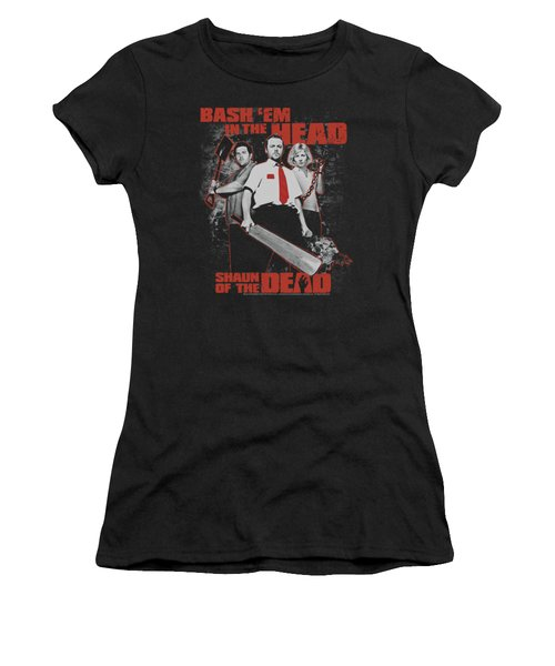 Shaun Of The Dead - Bash Em Women's T-Shirt