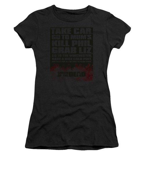 Shaun Of The Dead - List Women's T-Shirt