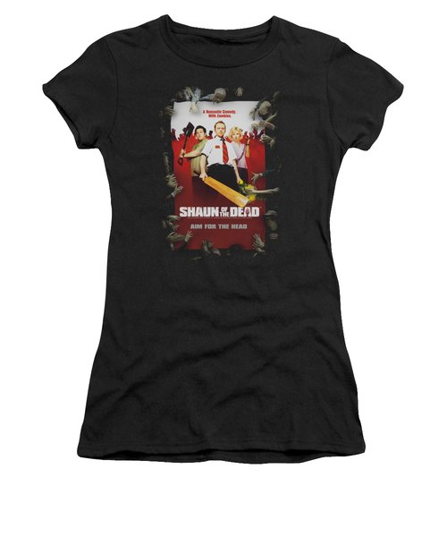 Shaun Of The Dead - Poster Women's T-Shirt