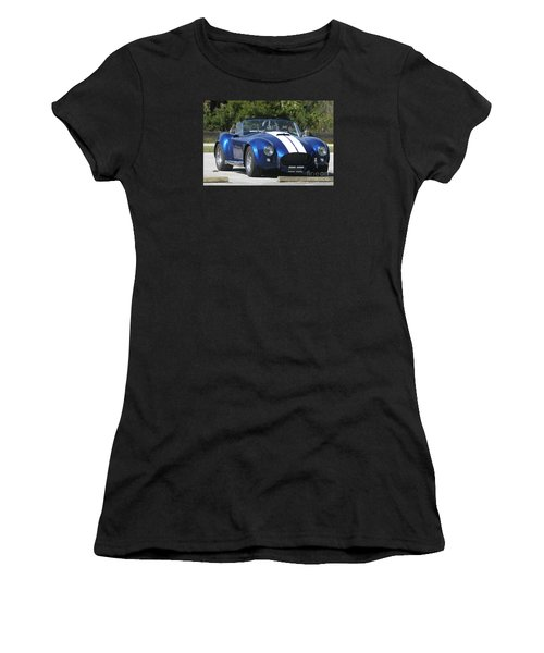 Shelby Cobra Women's T-Shirt (Junior Cut) by Christiane Schulze Art And Photography