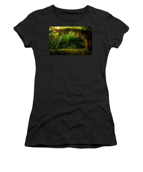 Sheltered Fern Women's T-Shirt