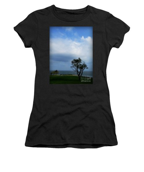 Sherwood Island Women's T-Shirt (Athletic Fit)