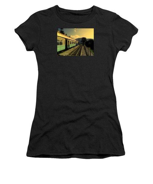 Shimla Railway Station Women's T-Shirt (Junior Cut) by Salman Ravish