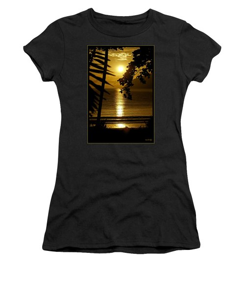 Shimmer Women's T-Shirt (Athletic Fit)