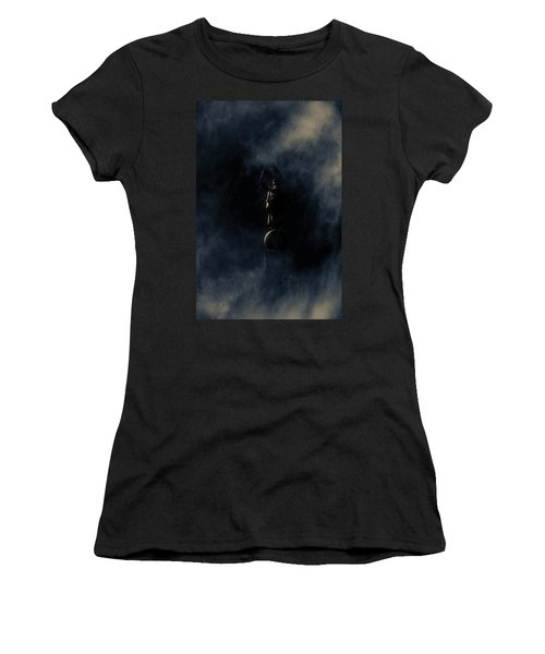 Women's T-Shirt (Junior Cut) featuring the photograph Shine Forth In Darkness by Greg Collins