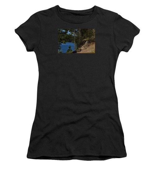 Shine On Women's T-Shirt (Athletic Fit)