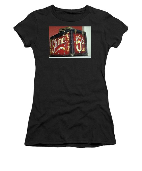 Shoe Shine Kit Women's T-Shirt (Junior Cut)