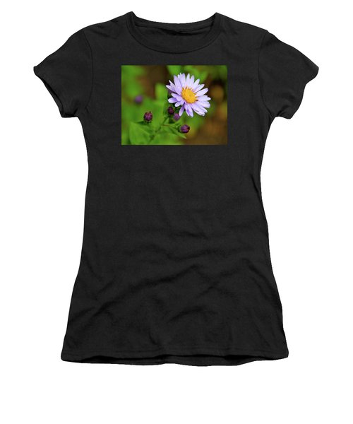 Showy Aster Women's T-Shirt (Athletic Fit)
