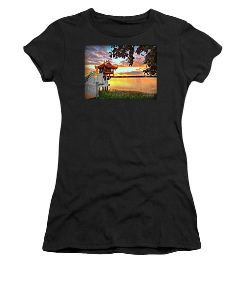 Shrine On The Lake. Women's T-Shirt