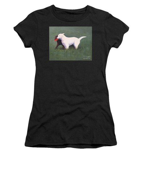Siblings Women's T-Shirt (Athletic Fit)