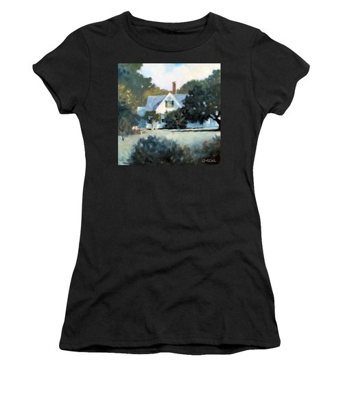 Side Yard Women's T-Shirt (Athletic Fit)