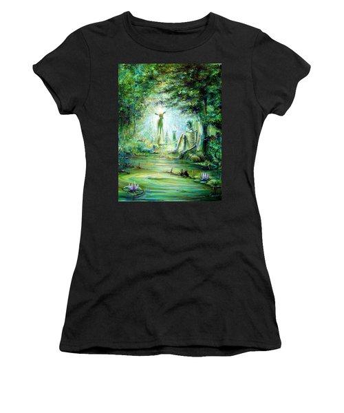 Siempre Conmigo Women's T-Shirt (Athletic Fit)