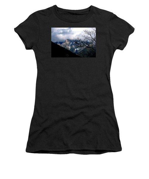 Sierra Nevada Snowy View Women's T-Shirt (Junior Cut) by Matt Harang