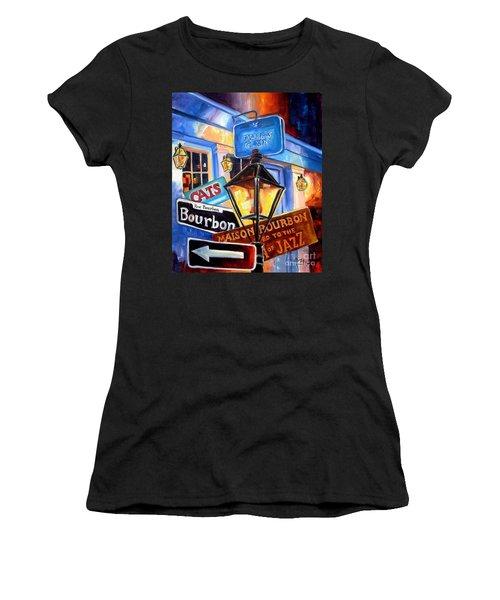 Signs Of Bourbon Street Women's T-Shirt