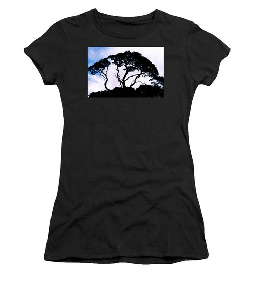 Women's T-Shirt (Junior Cut) featuring the photograph Silhouette by Jim Thompson