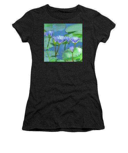 Silken Lilies Women's T-Shirt (Athletic Fit)