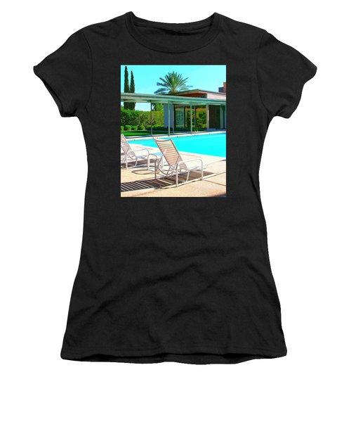 Sinatra Pool Palm Springs Women's T-Shirt