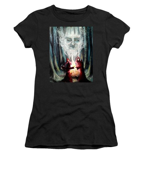 Sisters Of The Night Women's T-Shirt (Athletic Fit)