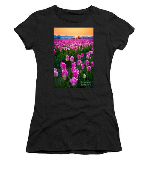Skagit Valley Dawn Women's T-Shirt