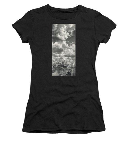 Sky Above San Trovaso Women's T-Shirt